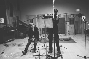 Tyson Recording with Chinese Violinist Haffijy